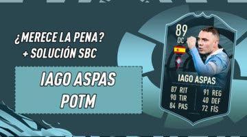 Imagen de FIFA 21: ¿Merece la pena Iago Aspas POTM? + Solución del SBC