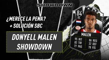 Imagen de FIFA 21: ¿Merece la pena Donyell Malen Showdown? + Solución del SBC