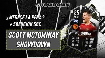 Imagen de FIFA 21: ¿Merece la pena McTominay Showdown? + Solución del SBC