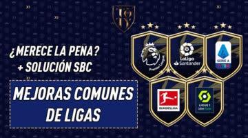 Imagen de FIFA 21: ¿Merecen la pena los SBC's de Mejoras comunes de Ligas?