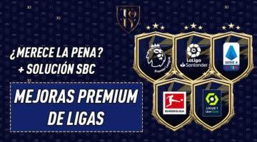 Imagen de FIFA 21: ¿Merecen la pena los SBC's de Mejoras Premium de Ligas?