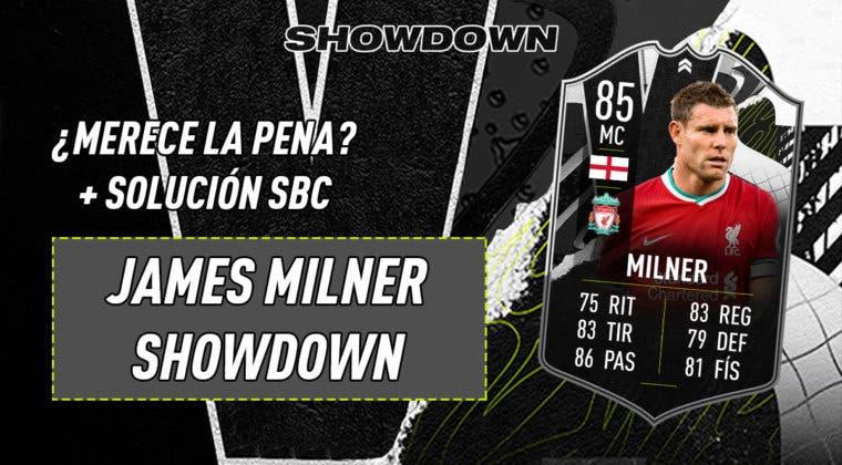 Imagen de FIFA 21: ¿Merece la pena James Milner Showdown? + Solución del SBC