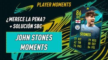 Imagen de FIFA 21: ¿Merece la pena John Stones Moments? + Solución del SBC
