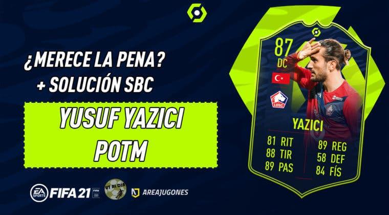 Imagen de FIFA 21: ¿Merece la pena Yusuf Yazici POTM? + Solución del SBC