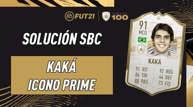 Imagen de FIFA 21: solución al SBC de Kaká Icono Prime