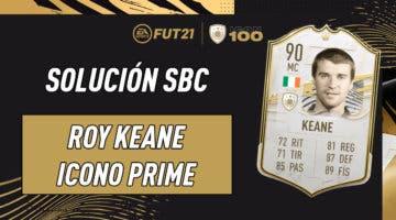 Imagen de FIFA 21: solución al SBC de Roy Keane Icono Prime