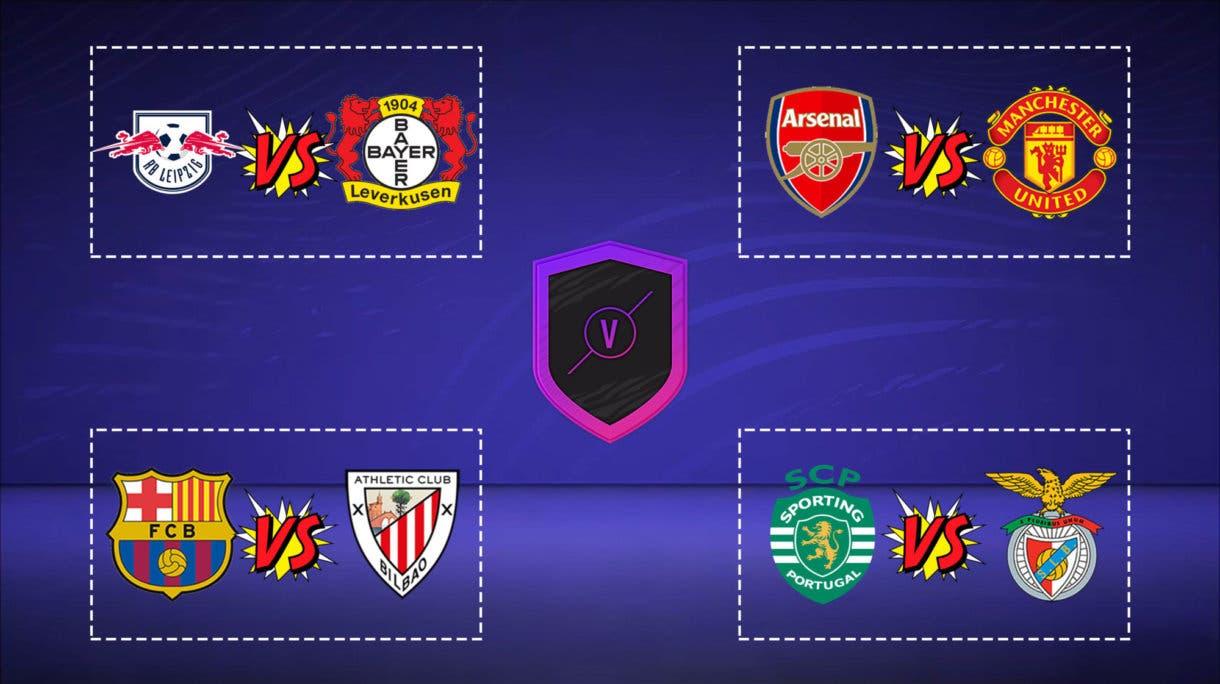 Predicción Partidos de Marquesina SBC FIFA 21 Ultimate Team