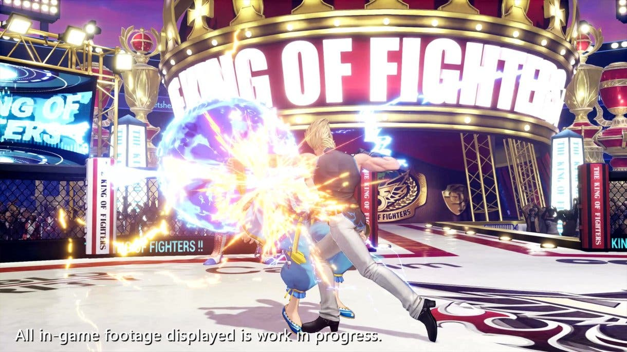 the king of fighters xv 3 3