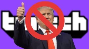 Imagen de Twitch suspende indefinidamente la cuenta de Donald Trump