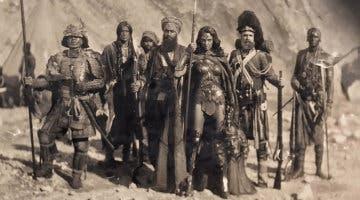 Imagen de Zack Snyder explica la foto de Wonder Woman posando con varias cabezas cortadas