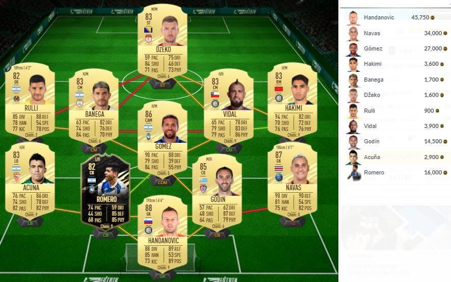 FIFA 21 Ultimate Team SBC Bruno Guimaraes Future Stars