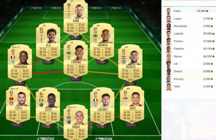 FIFA 21 Ultimate Team SBC Raphinha What If