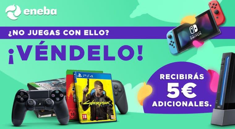 Imagen de ¡Vende rápido tus juegos, consolas y accesorios en Eneba!