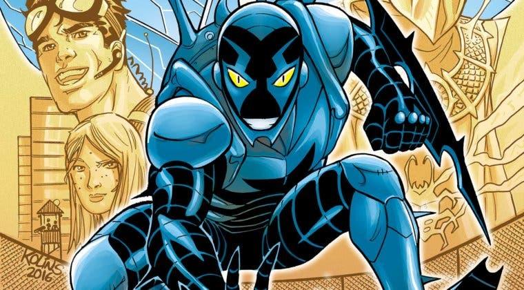 Imagen de Blue Beetle será la primera película en solitario de un superhéroe latino de DC