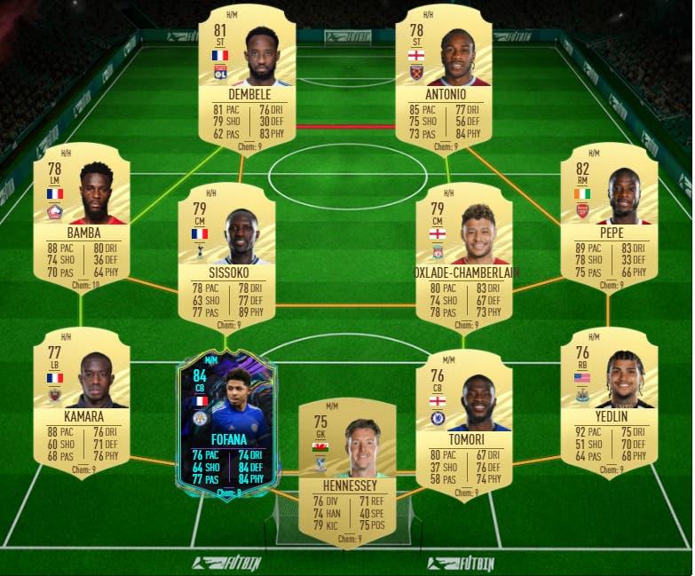 FIFA 21 Ultimate Team Guía Fofana Future Stars