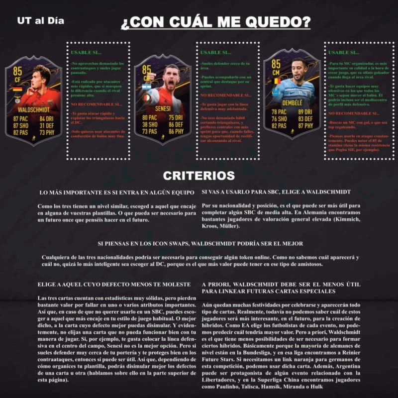 FIFA 21 Ultimate Team Recompensas Cartas Trasfondo Nivel 15 Temporada 4