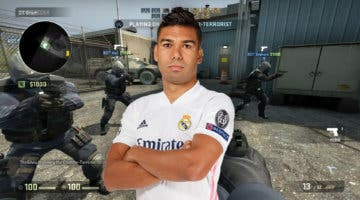 """Imagen de Casemiro: """"Estoy más nervioso en el Counter-Strike que en el Bernabéu"""""""