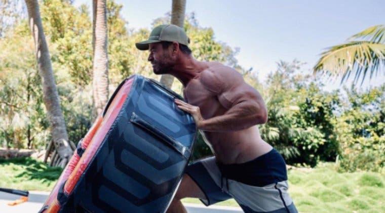 Imagen de La anécdota que demuestra que Chris Hemsworth está más fuerte que nunca en Thor: Love and Thunder