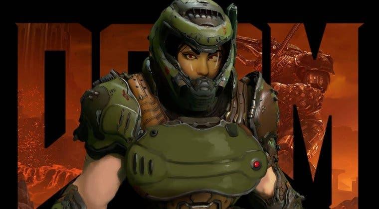 Imagen de El director de DOOM Eternal asegura estar pensando en añadir una protagonista femenina al juego