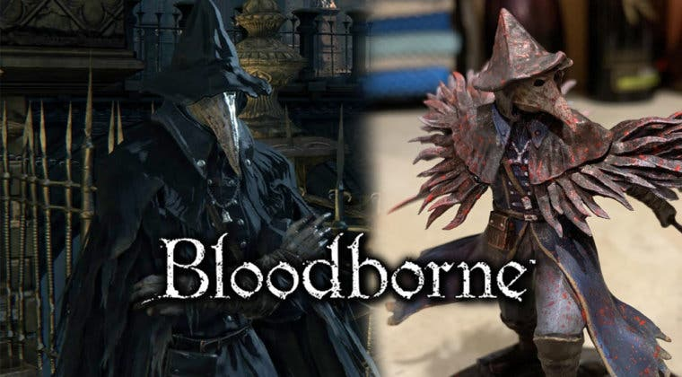 Imagen de Así luce la espectacular figura de Eileen (Bloodborne) hecha por un fan