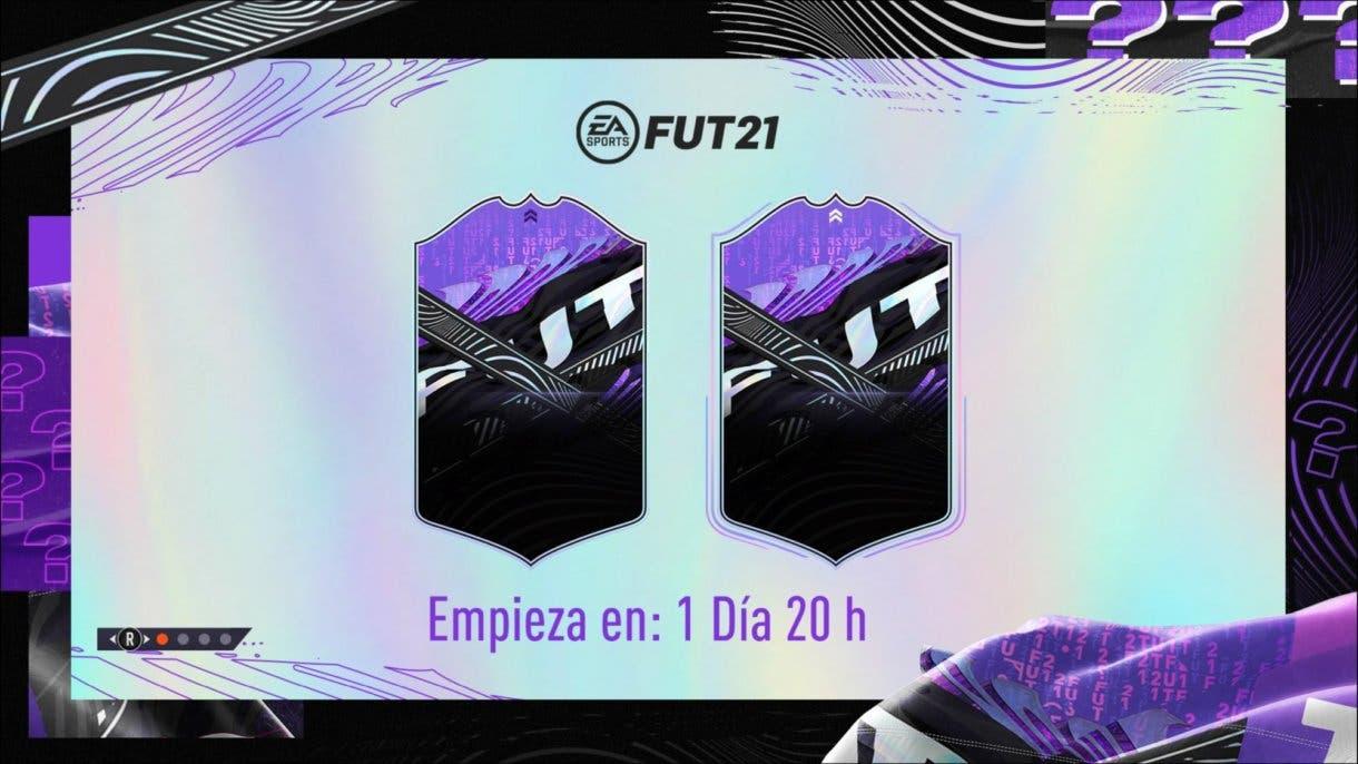 FIFA 21 Ultimate Team What If diseño carta.