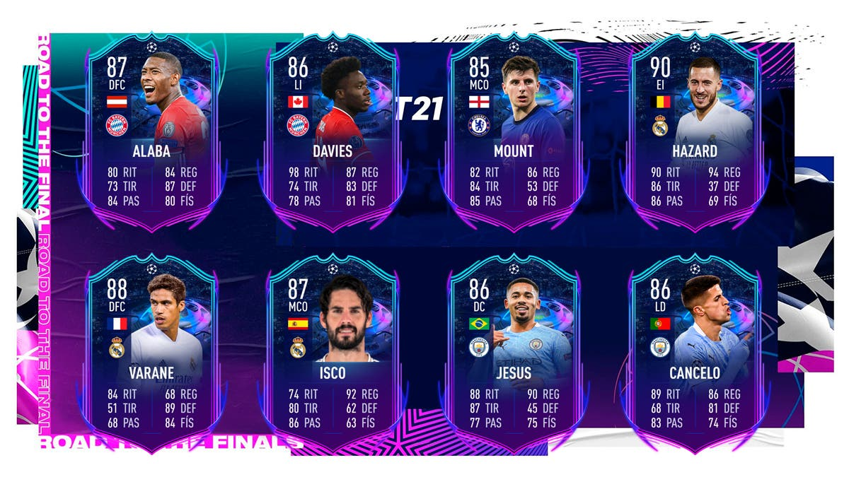 FIFA 21 Ultimate Team RTTF Champions League Ida Octavos de Final