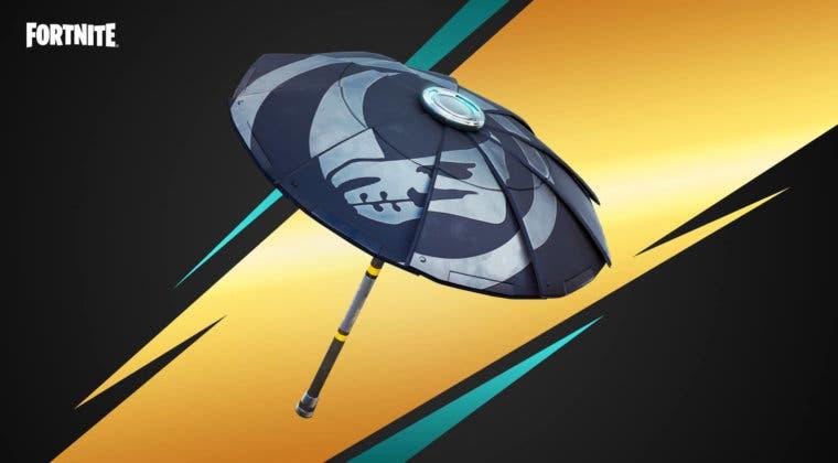 Imagen de Fortnite: cómo conseguir gratis el nuevo paraguas Beskar de The Mandalorian