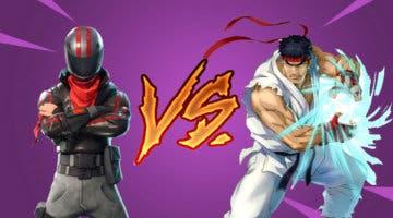 Imagen de Fortnite apunta a una nueva colaboración con Street Fighter con el próximo cazador de la Temporada 5