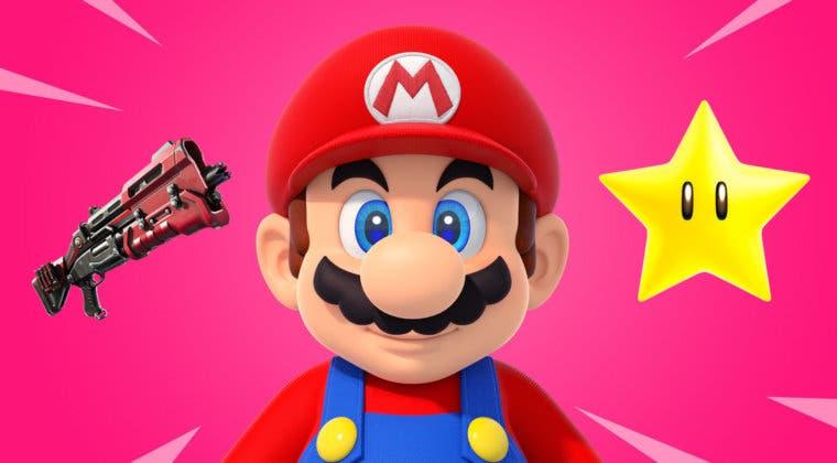 Imagen de Fortnite: imaginan un increíble set de nuevas armas y objetos inspirados en Super Mario