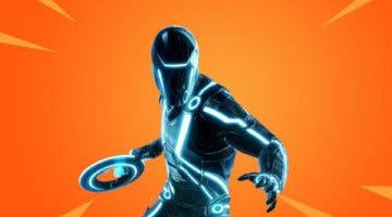 Imagen de Un fan de Fortnite crea una increíble skin inspirada en el posible crossover con Tron