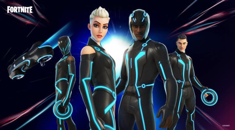 Imagen de La skin de Tron de Fortnite presenta un nuevo bug de lo más irritante