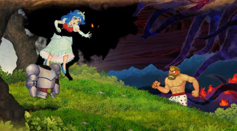 Imagen de Ghosts 'n Goblins Resurrection celebra su lanzamiento con un nuevo tráiler