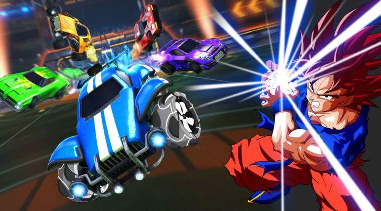 Imagen de Rocket League: un fan enseña cómo hacer un imparable tiro, 'el flick de Goku'