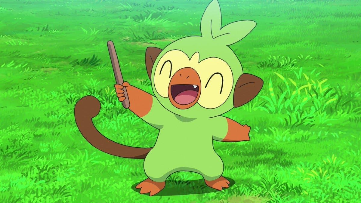 Grookey Pokemon inicial