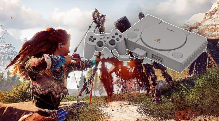 Imagen de Así es como sería un demake de Horizon Zero Dawn con gráficos de PS1