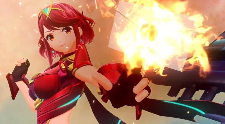 Imagen de Pyra y Mythra, de Xenoblade Chronicles 2, son los nuevos DLC de Super Smash Bros. Ultimate
