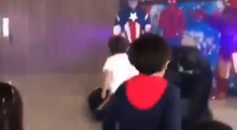 Imagen de Este niño consigue en un minuto lo que los Vengadores no pudieron en Infinity: War