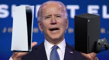 Imagen de Joe Biden ejecuta una investigación ante la falta de stock de PS5 y Xbox Series