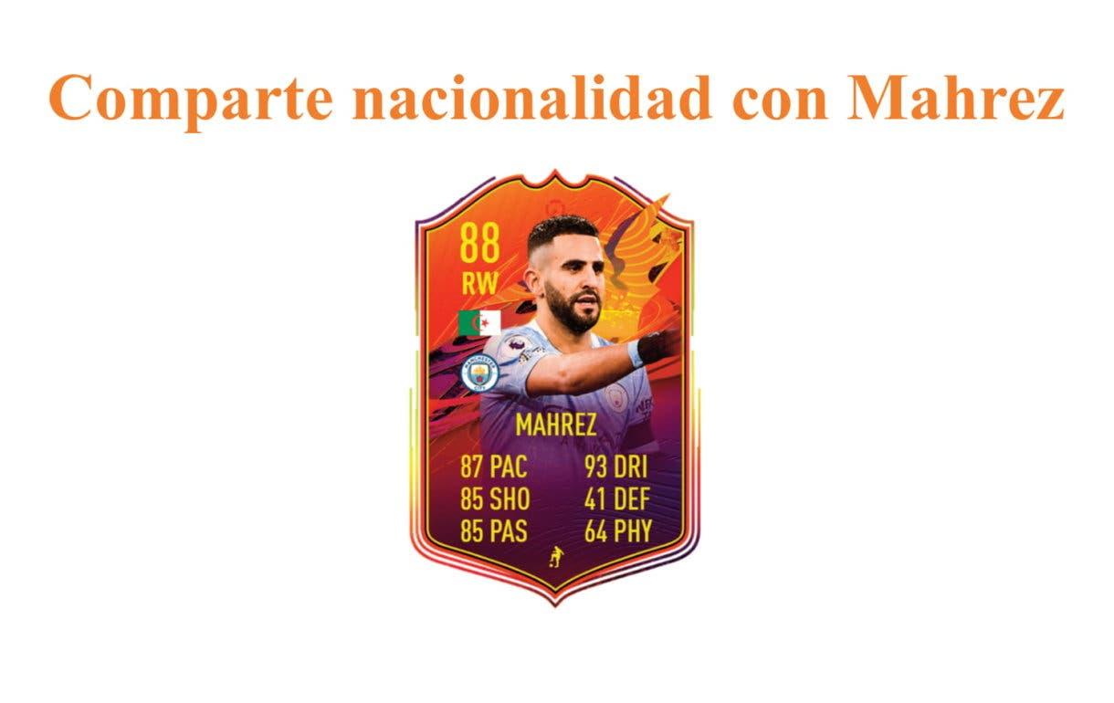 FIFA 21 Ultimate Team. Links naranjas Boulaya POTM.
