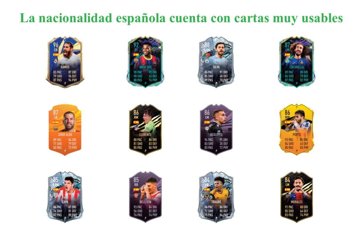 FIFA 21 Ultimate Team Butragueño Baby links verdes Icon Swaps segunda tanda
