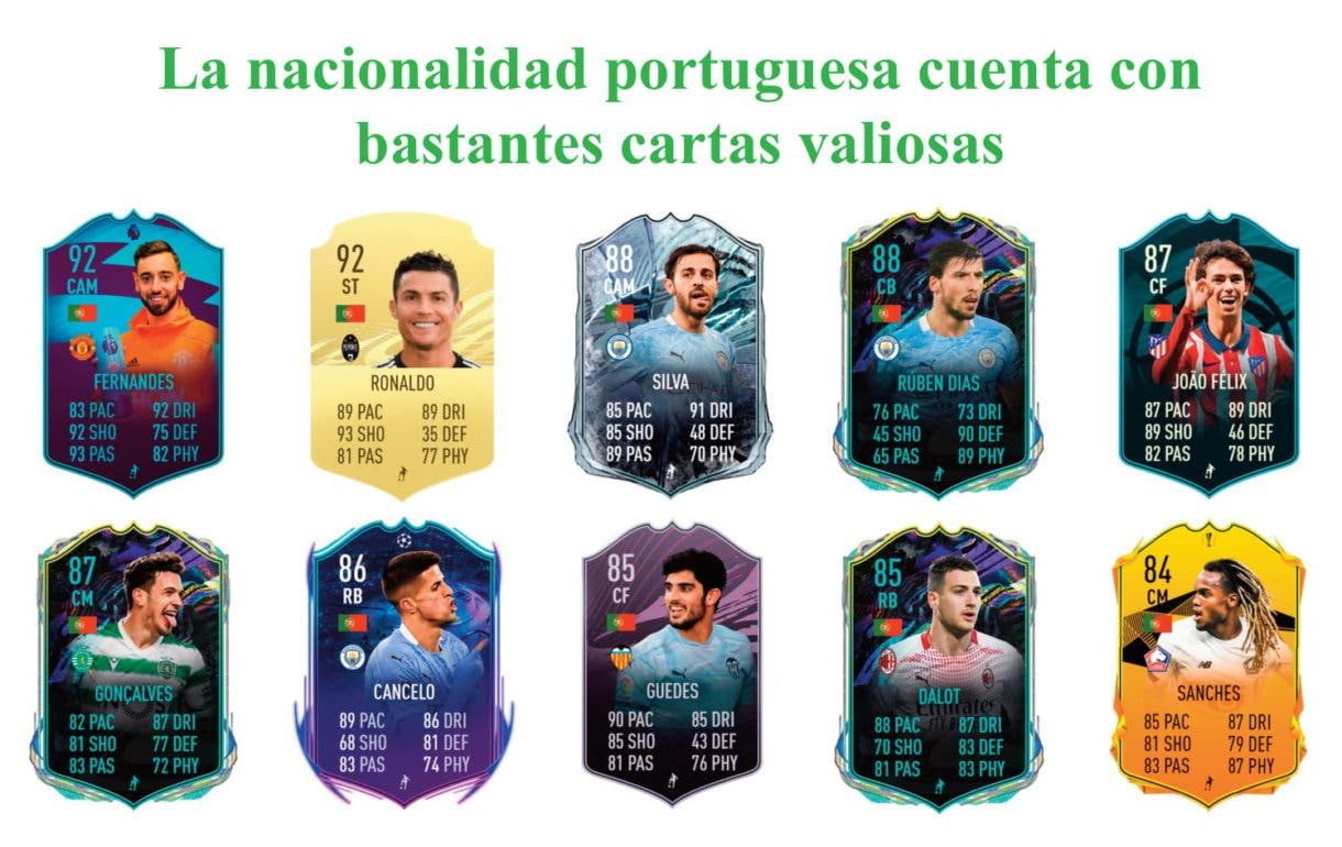 FIFA 21 Ultimate Team links verdes Deco Moments Icon Swaps segunda tanda