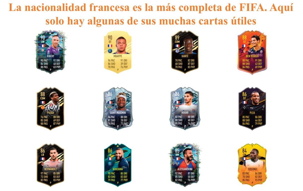 Moussa Dembélé Moments FIFA 21 Ultimate Team links naranjas