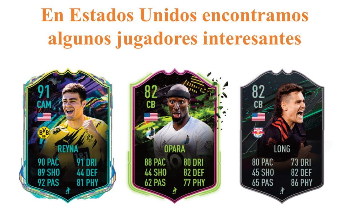 FIFA 21 Ultimate Team Dest Future Stars links naranjas.