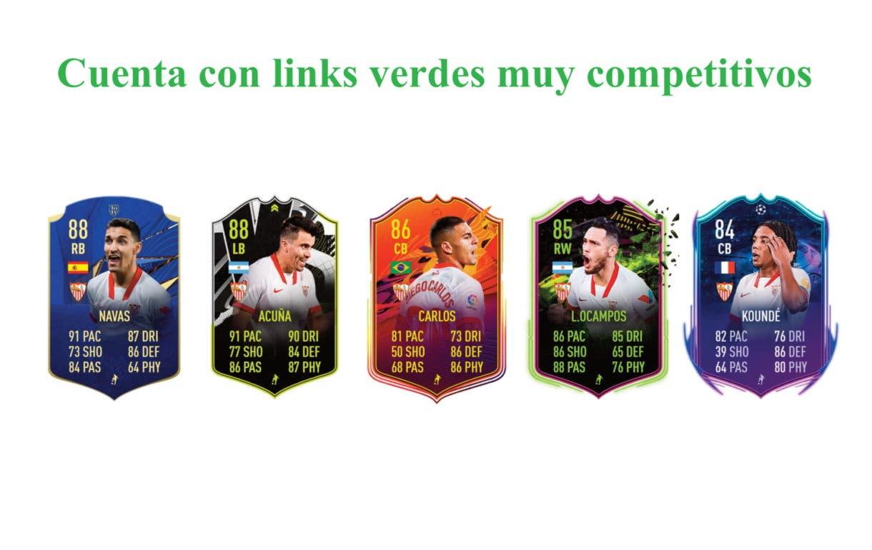 En-Nesyri POTM Liga Santander links verdes FIFA 21 Ultimate Team