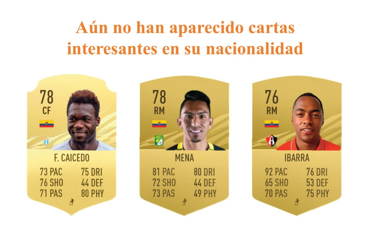 Estupiñán Future Stars links naranjas FIFA 21 Ultimate Team