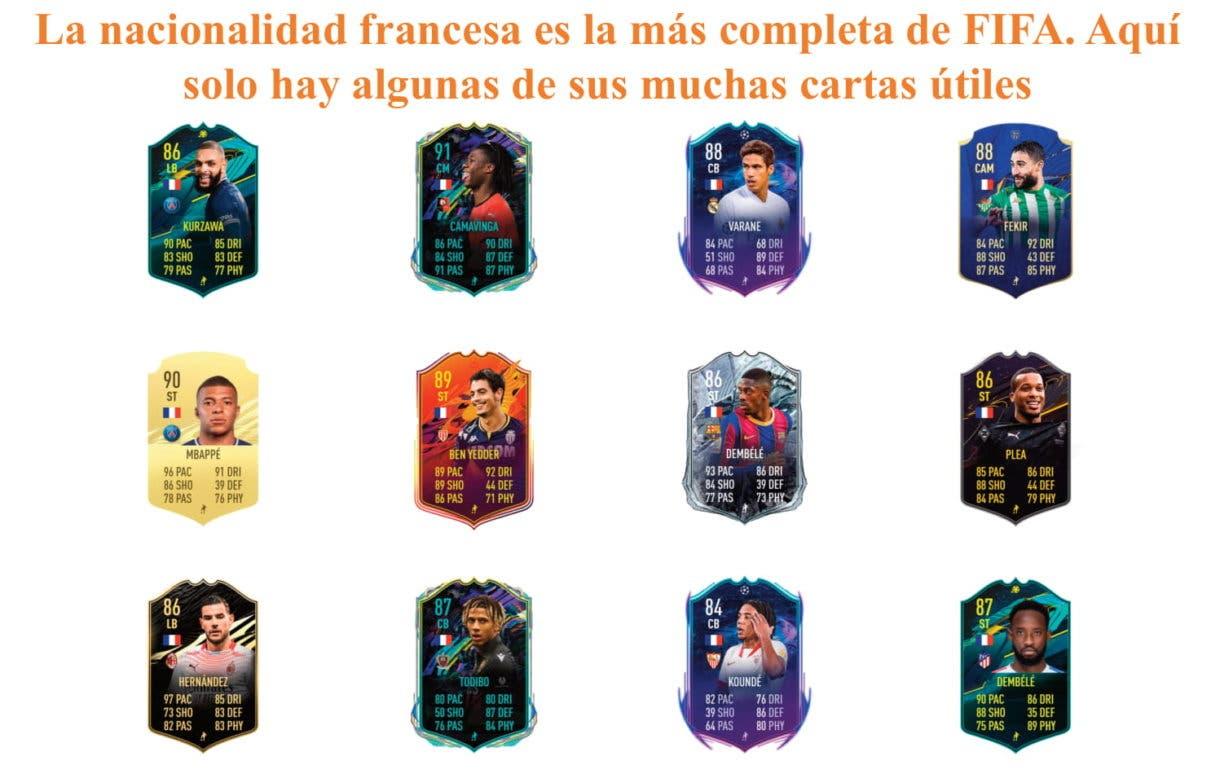 FIFA 21 Ultimate Team Fofana Future Stars links naranjas.