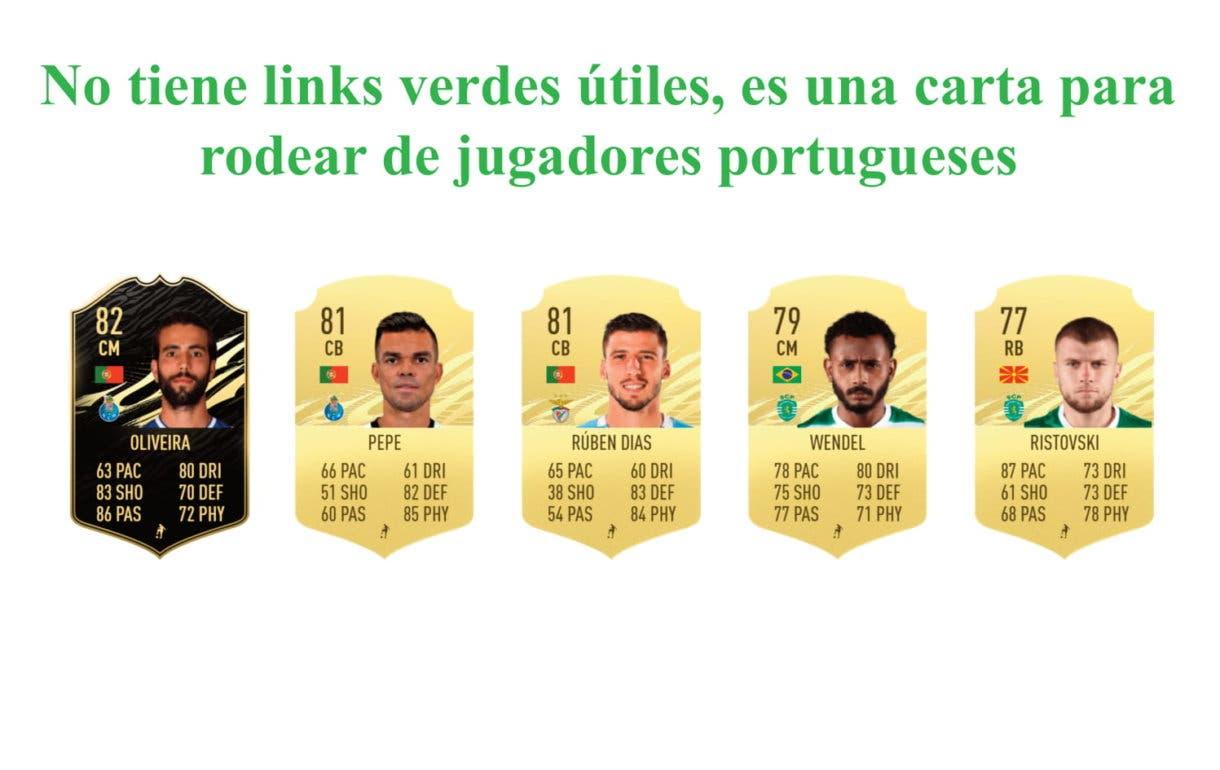 Pedro Goncalves Future Stars links verdes. FIFA 21 Ulitmate Team