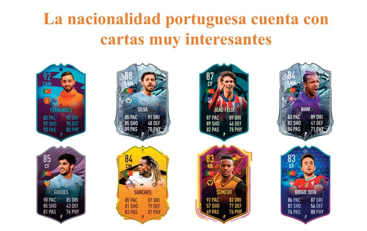 Pedro Goncalves Future Stars links naranjas. FIFA 21 Ulitmate Team