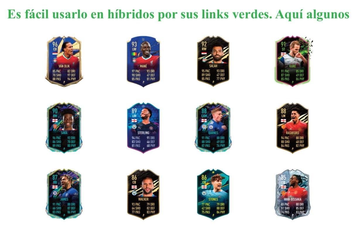 FIFA 21 Ultimate Team Curtis Jones Future Stars links verdes