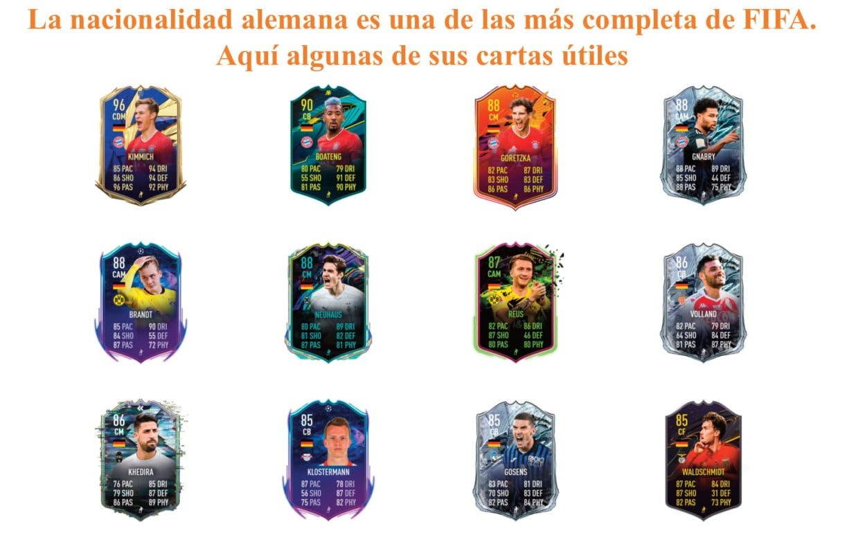 Kroos Flashback FIFA 21 Ultimate Team. Links naranjas